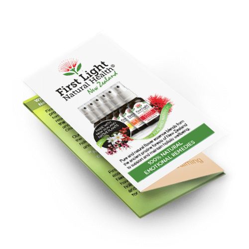 First Light Natural Health® Mini Product Brochures